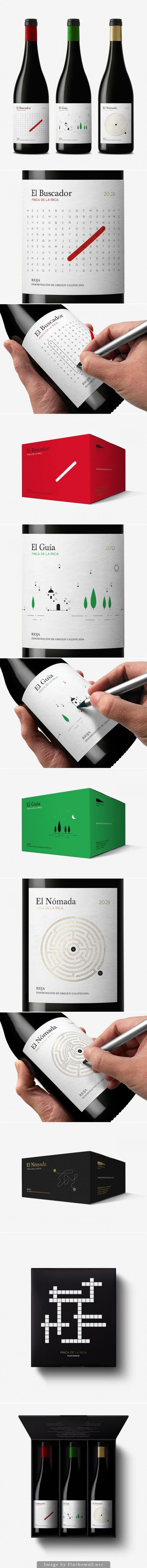 Finca de la Rica #wine #packaging by Dorian - http://www.packagingoftheworld.com/2014/11/finca-de-la-rica.html