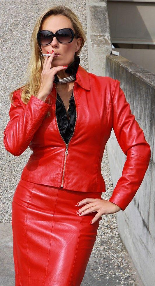 Fast Fashion Frauen Hoch Taille Nasses Aussehen PVC Leder Gl/änzend Metallisch Fl/üssigkeit Bleistift Midi Rock