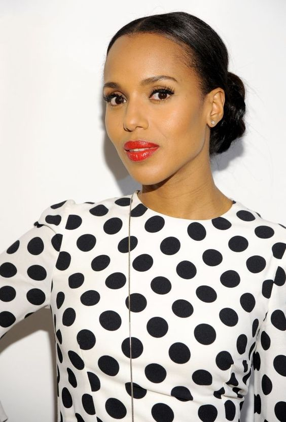 Kerry Washington at a 2015 event for The Limited Collection. http://beautyeditor.ca/2015/02/12/mark-townsend-hair-tips