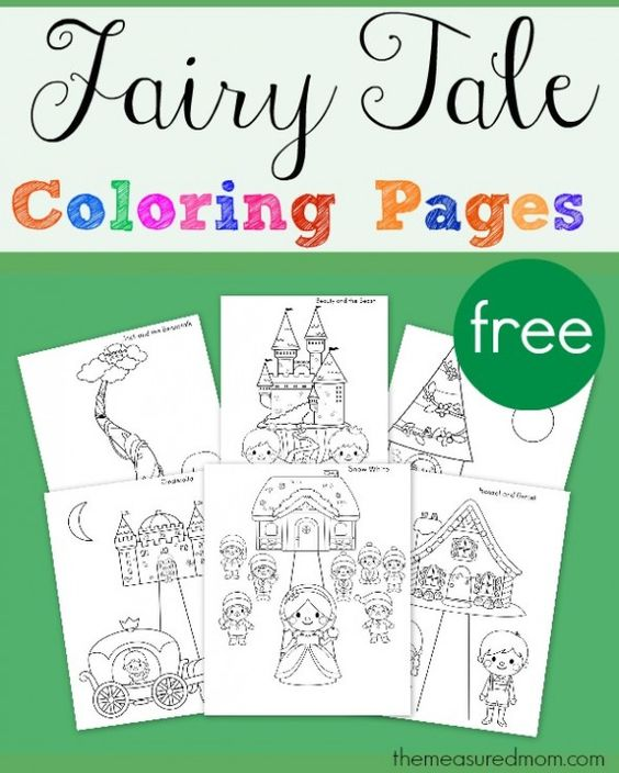 fairy tale coloring pages subscriber freebie pinterest coloring pages fairies and coloring. Black Bedroom Furniture Sets. Home Design Ideas