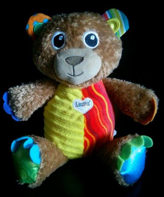 Osito de peluche #juguete #tomy #lamaze