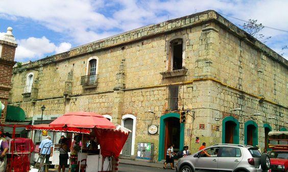 Fuera del mercado de Oaxaca