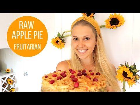 Raw Apple Pie Fruitarian Raw Vegan Youtube Raw Apple Pie Fruitarian Raw Vegan