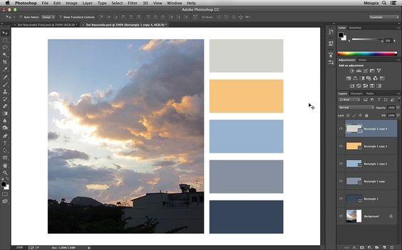 Como criar uma Paleta de Cor a partir de uma imagem