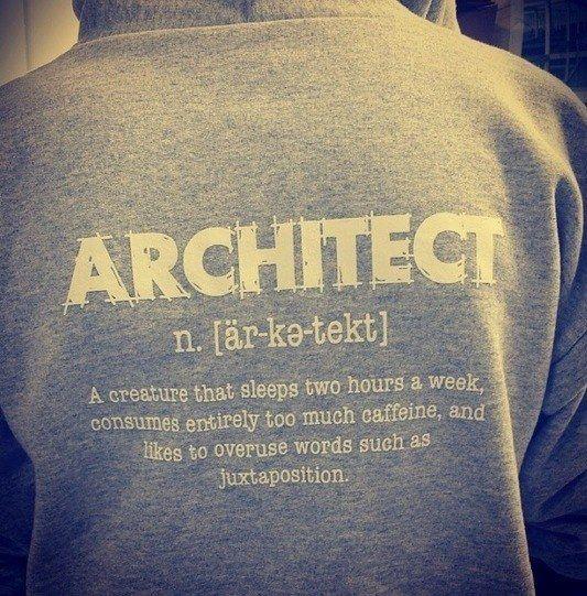 """Llevar el título de """"Arqui"""" con orgullo — probablemente en la manga:   38 cosas que todos los estudiantes de arquitectura conocen demasiado bien"""
