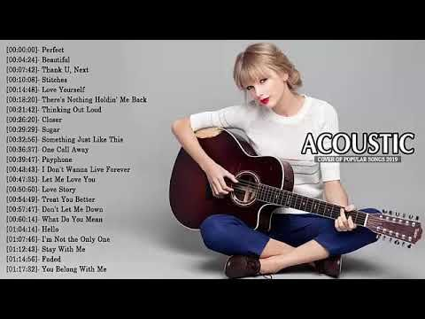 Top 40 Acoustic Guitar Covers Of Popular Songs Best Instrumental Music 2019 Youtube Music Instruments Songs Acoustic Guitar
