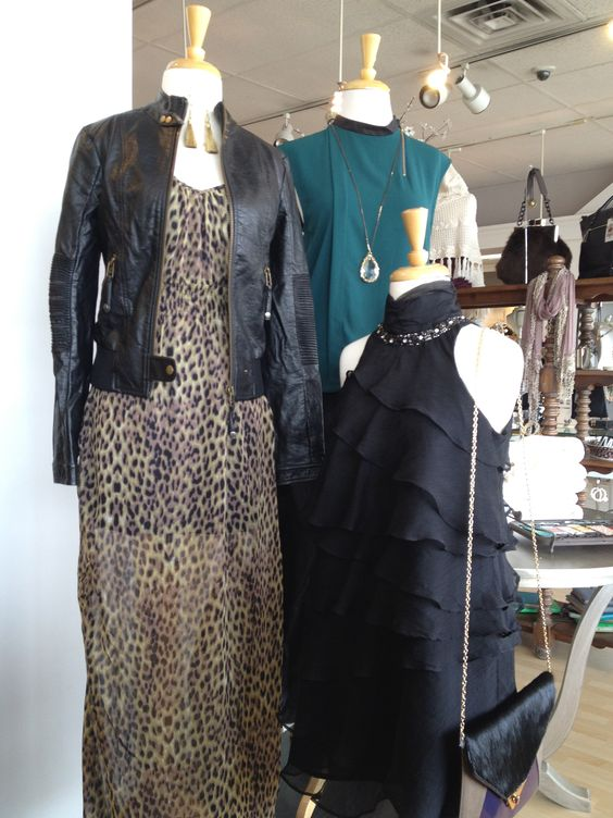 Animal Print Leather and GREEN