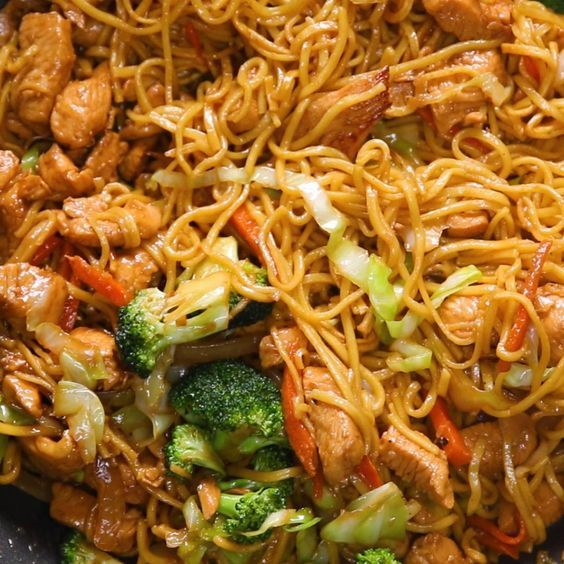 Chow Mein 4 Ways Recipes Chow Mein Recipe Veggie Chow Mein Homemade Chinese Food