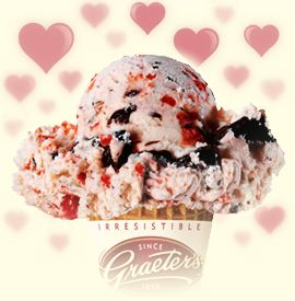 A cold ice-cream cone on a hot summer day.  My favorite: Graeter's!