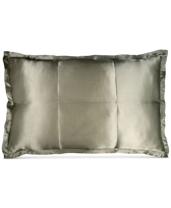 Donna Karan Home Moss Silk Quilted Standard Sham