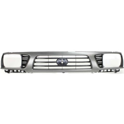 1995-1997 Toyota Tacoma Grille, Gray Shell/Black