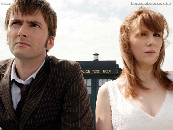 Doctor Who. I am a big fan of the Doctor Donna :): Doctor Who David, Doctor Donna, 10Th Doctor, David Tennant, Doctor Who Land, Donna Doctorwho