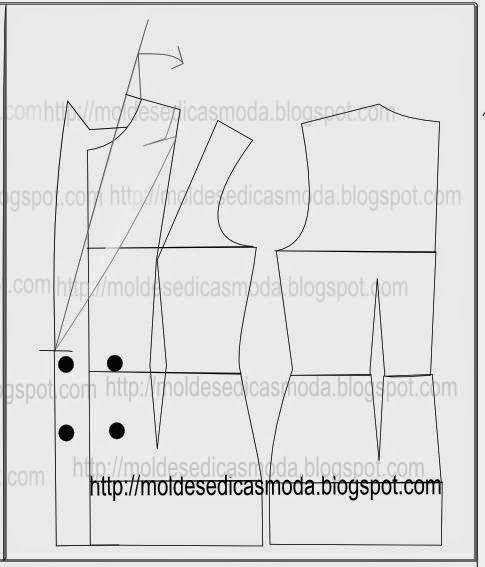 PASSO A PASSO MODELAÇÃO DE GOLA - Moldes Moda por Medida