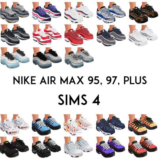 sims 4 nike air max 95