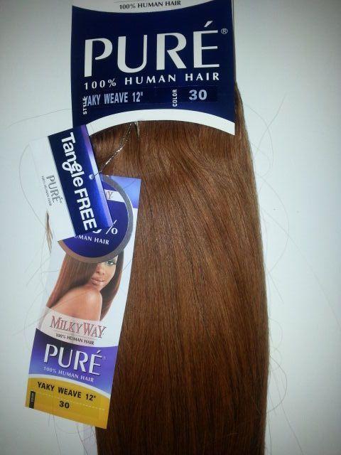 100 Human Hair Tangle Free Yaky Weave 12 30 Straight Milky Way Pure Women Hair Tangles Ideas Of Hair Tang Kids Hair Brush Tangle Free Hair Styling Shampoo