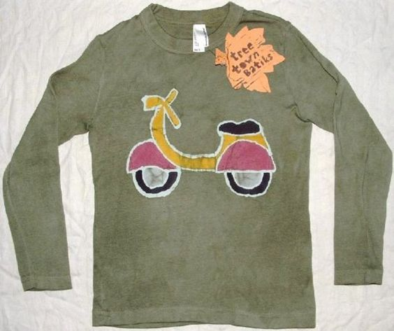 VESPA LONG SLEEVE par jerusha sur Etsy, $27,50