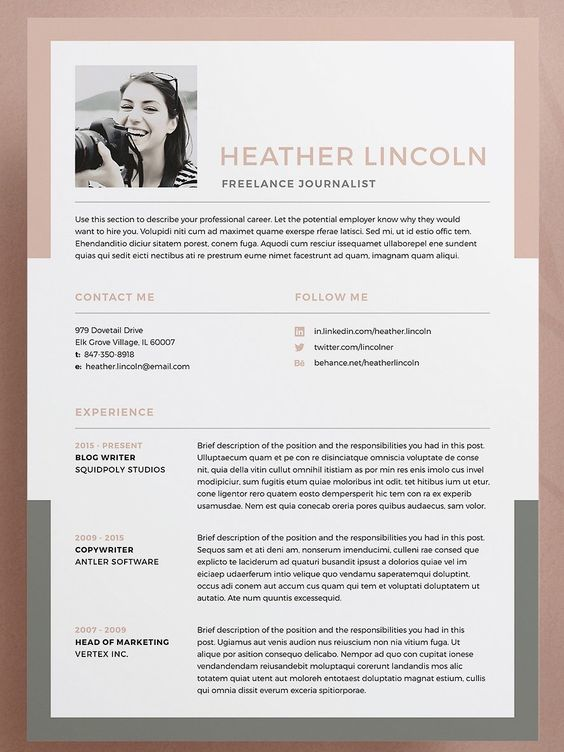 Resume CV - Murphy by bilmaw creative on @Graphicsauthor Resume - is a cv the same as a resume
