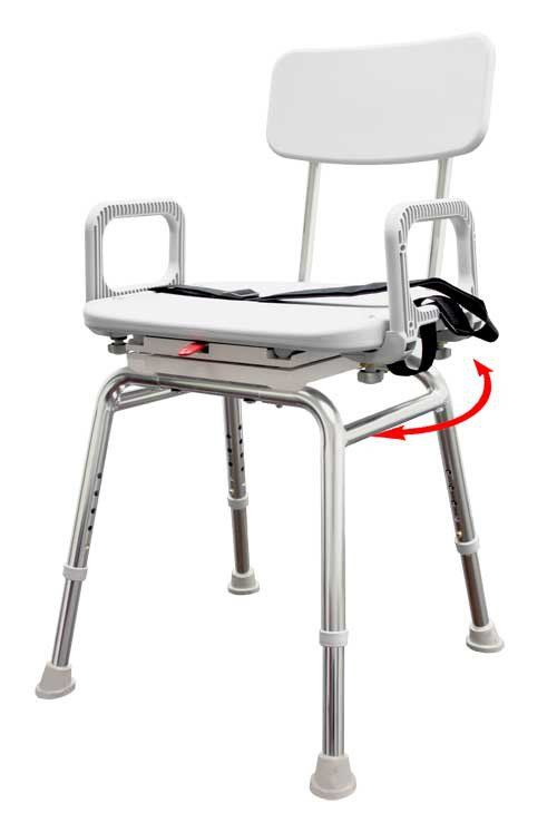 Snap N Save Swivel Shower Chair 75233 75232 Vitality Medical Handicap Shower Chair Shower Chairs For Elderly Shower Chair