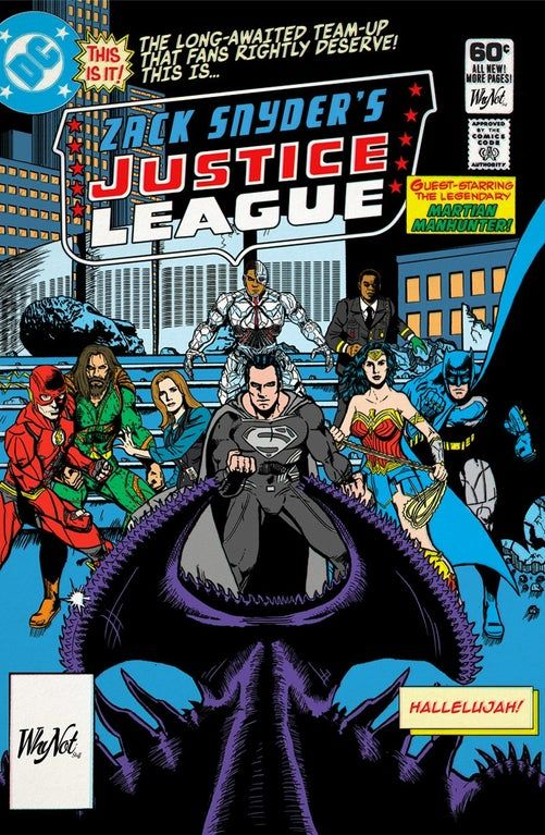 Fanart Zack Snyder Justice League Classic Comic Version By Whynotstuff Dc Cinematic Justice League Comics Classic Comics Comics