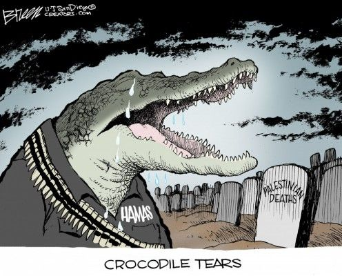 CROCODILE TEARS | Jul/25/14 WORLD Political Cartoons