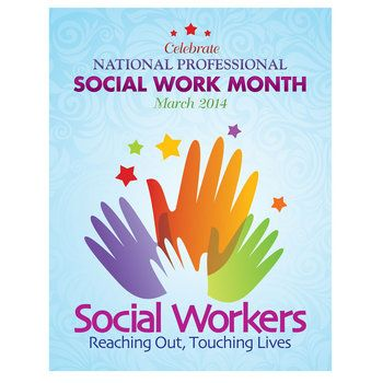 Social Workers Reaching Out, Touching Lives Event Poster Pack