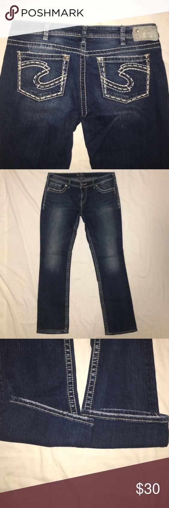 Silver Jeans Aiko W34/L33