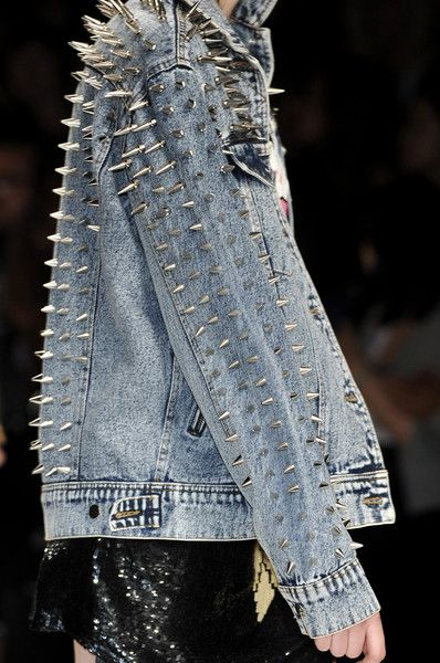 studs and denim