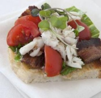Crab BLT | sandwiches | Pinterest | Louisiana, Crabs and Bacon