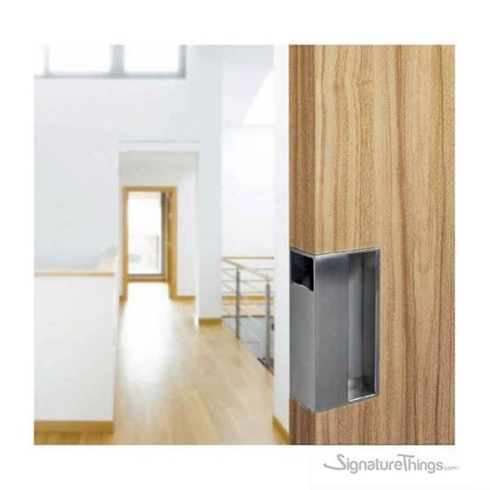 Sliding Door Pull With Brushed Stainless Steel Discount Interior Doors Sliding Doors Interior