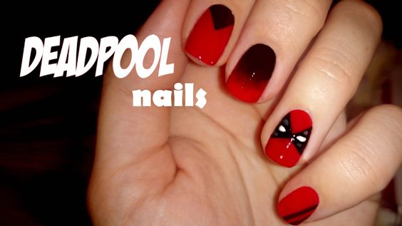 Tacos & Deadpool | Nail art/ bedazzled phone cases | Pinterest | Deadpool  and Nail nail - Tacos & Deadpool Nail Art/ Bedazzled Phone Cases Pinterest