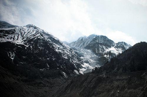 Mountains as far as the eye can see.