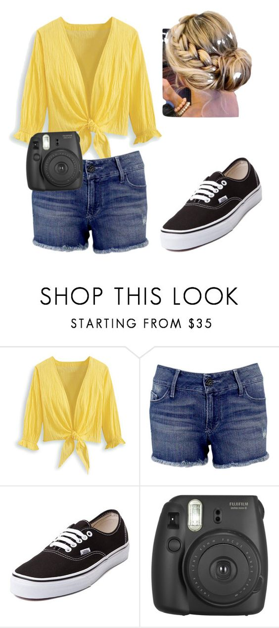 """Untitled #3"" by maybellerose21 ❤ liked on Polyvore featuring Black Orchid, Vans and summerbbq"