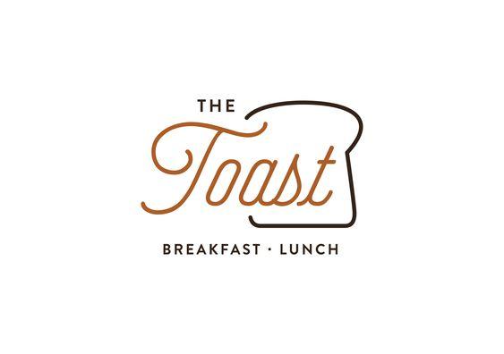 The Toast Restaurant Logo Design Food Logo Design Inspiration Restaurant Logo Design Logo Restaurant