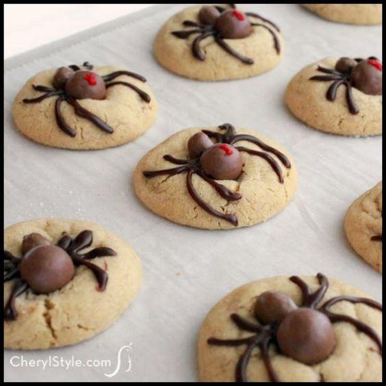 Halloween Spider Cookies | Halloween | Pinterest | Spider Cookies ...