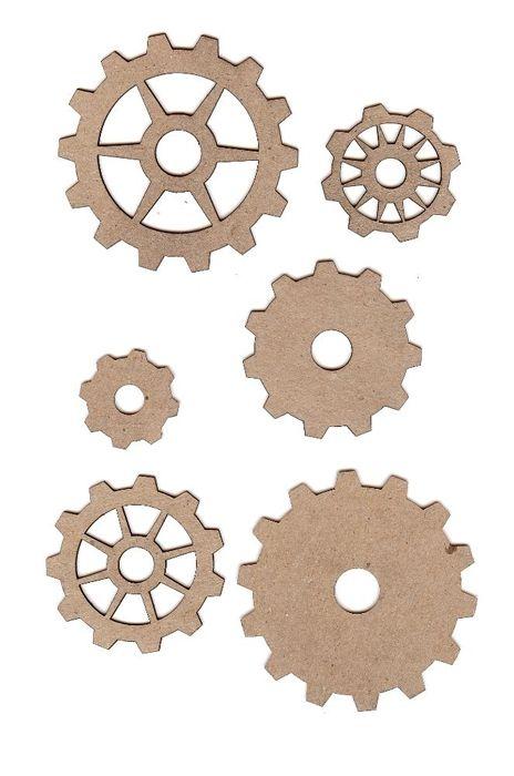Chipboard Shapes Ideas ~ Leaky shed studio chipboard shapes gear set studios