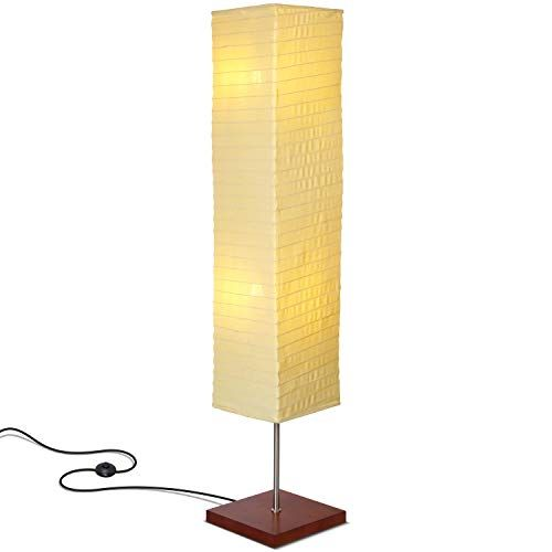 Brightech Tranquility Led Floor Lamp For Living Rooms Bedrooms Mid Century Modern Minimalist Ambient Light Perfect For Beside The Bed Or Office Corner In 2020 Mid Century