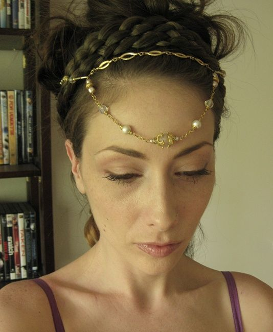 Hair Jewels + Braids = <3    www.chenincamille.etsy.com  $32