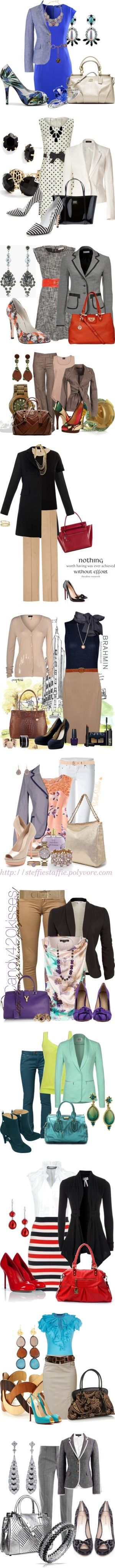 """work Wear 3"" by coromitas on Polyvore:"