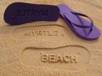 Custom Beach Flip Flops by Flipside Flip Flops