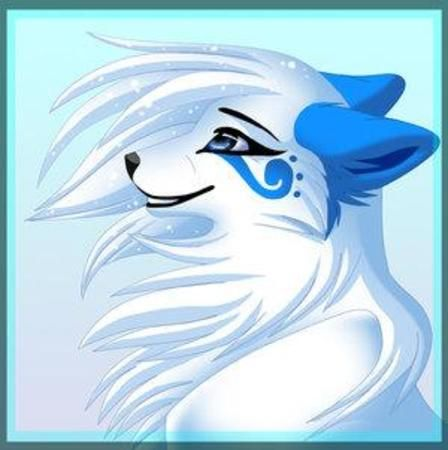Gallery For gt Ice Wolf Anime Pup