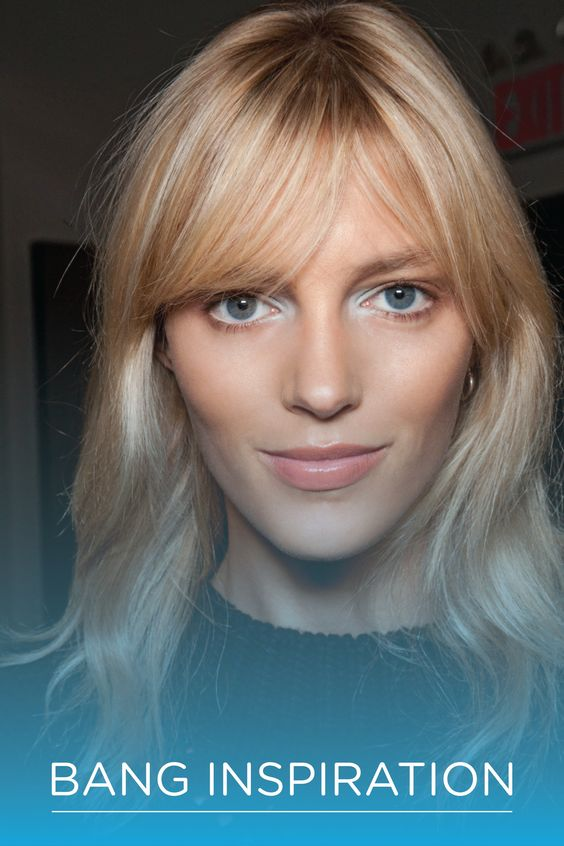 Check out these gorgeous bang ideas for your next haircut.