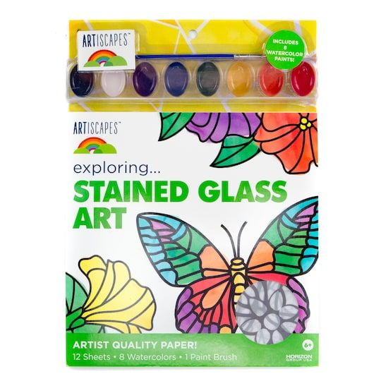 Artiscapes Stained Glass Art Kit Michaels Stained Glass Art