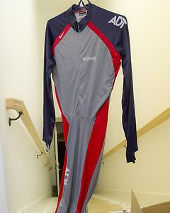 US-Speed-Skating-Nike-Short-Track-Skin-Suit-USA-Size-XXL-Vomax