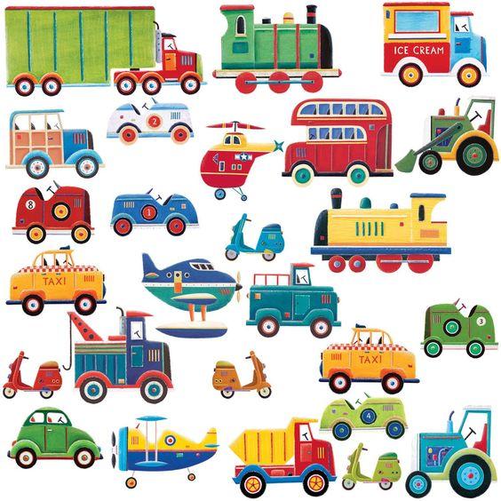 Idéal pour les passionnés de transports! #sticker #décoration #idéedéco #enfant #chambre