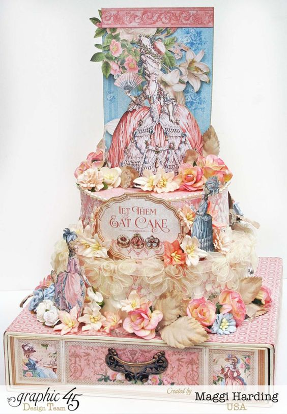 Paper cake, Gilded Lily, Maggi Harding, Graphic 45
