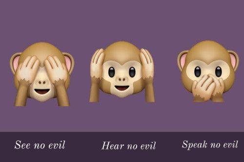 Monkey Emoji Monkey Emoji Emoji Emoji Language