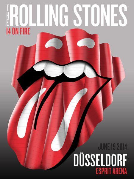 #StonesDüsseldorf show poster