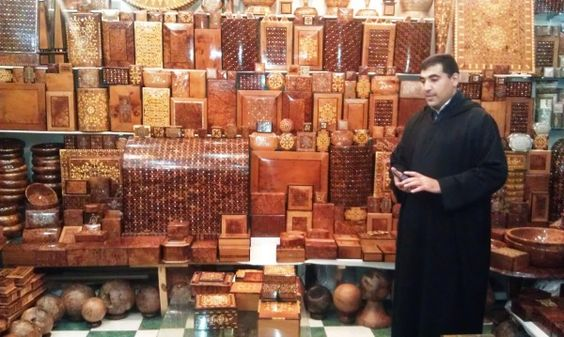 Love these wooden boxes, especially the ones from Essaouira!