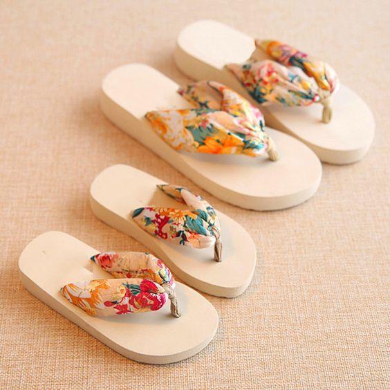 Mom Girl Summer Flip-Flops - popreal.com