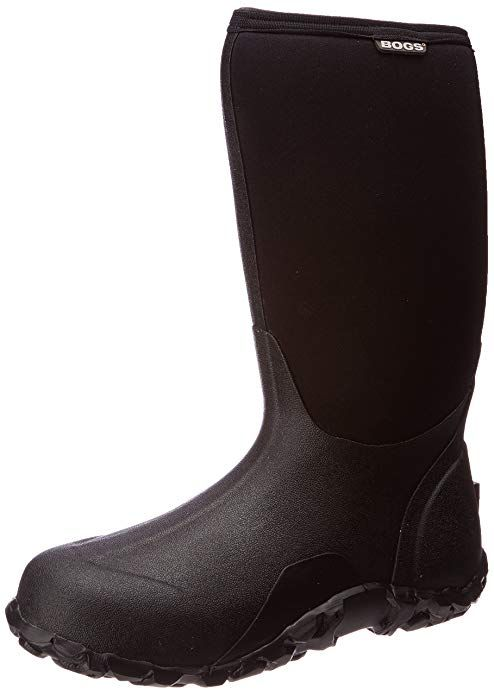 Bogs Men S Classic High Waterproof Insulated Rain Boot Black 4 D M Us Mens Snow Boots Winter Snow Boots Boots